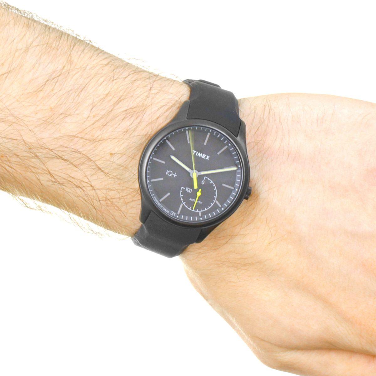 homme timex iq move activity tracker bluetooth hybride smartwatch montre tw2p95100. Black Bedroom Furniture Sets. Home Design Ideas