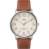 Timex The Waterbury Herrklocka Brun TW2R25600