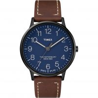 Timex The Waterbury Herrklocka Brun TW2R25700
