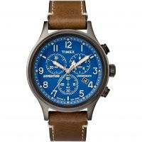 Timex Expedition Herrkronograf Brun TW4B09000