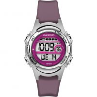 femme Timex Marathon Alarm Chronograph Watch TW5M11100