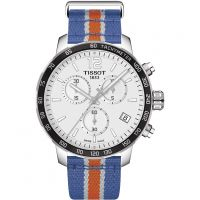 Mens Tissot Quickster NBA New York Knicks Special Edition Chronograph Watch