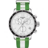 Hommes Tissot Quickster NBA Boston Celtics Special Édition Chronographe Montre