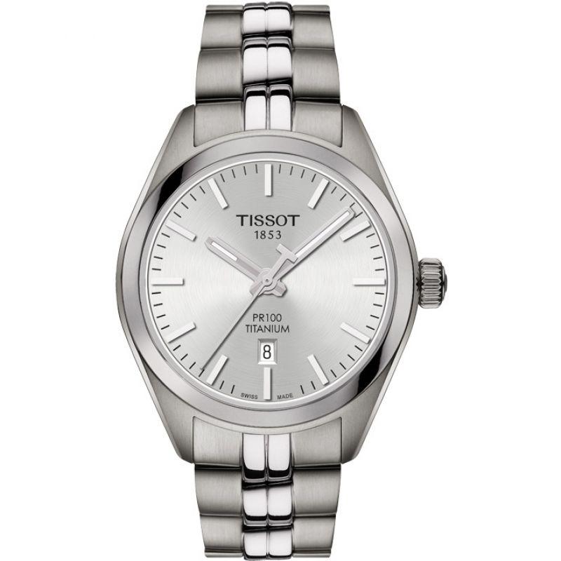 Ladies Tissot PR100 Titanium Watch