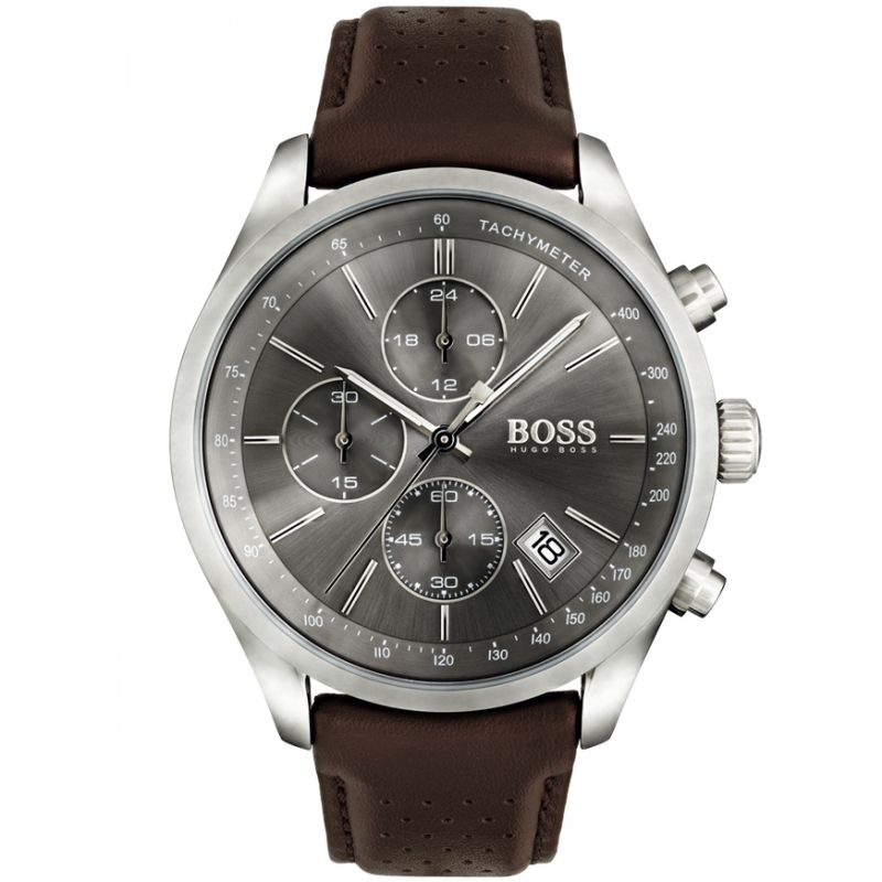 Mens Hugo Boss Grand Prix Chronograph Watch
