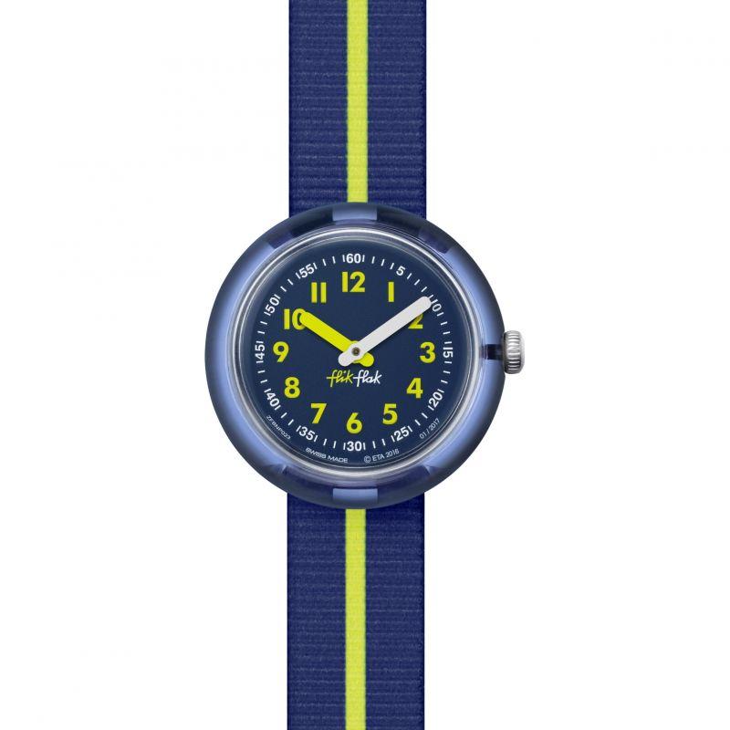 Kinder Flik Flak Yellow Band Watch FPNP023