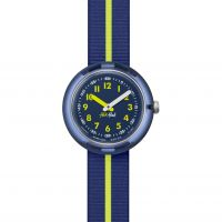 Kinder Flik Flak Yellow Band Watch FPNP023