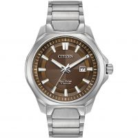 Mens Citizen Titanium Eco-Drive Watch