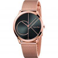Unisex Calvin Klein Minimal 40mm Watch K3M21621