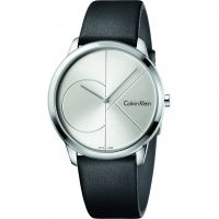 Unisex Calvin Klein Minimal 35mm Watch K3M221CY