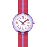 Kinder Flik Flak Purple Band Watch FPNP021