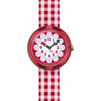 Enfants Flik Flak Gingham Montre