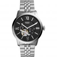 Fossil Mechanicals Herenhorloge Zilver ME3107