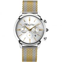 Mens Thomas Sabo Rebel Spirit Chrono Chronograph Watch WA0286-282-201-42MM