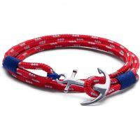 Tom Hope Sterling Silver Arctic 3 Bracelet Size S TM0011
