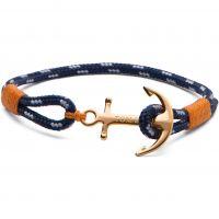Tom Hope Sterling Silver 24K One Bracelet Size XS TM0120