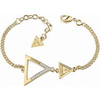 Ladies Guess Gold Plated Iconic 3Angles Bracelet
