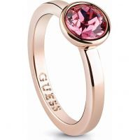 Ladies Guess Rose Gold Plated Miami Ring