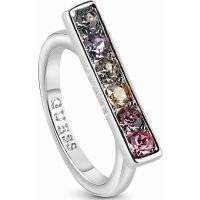Femmes Guess Rhodium Plated Miami Bague