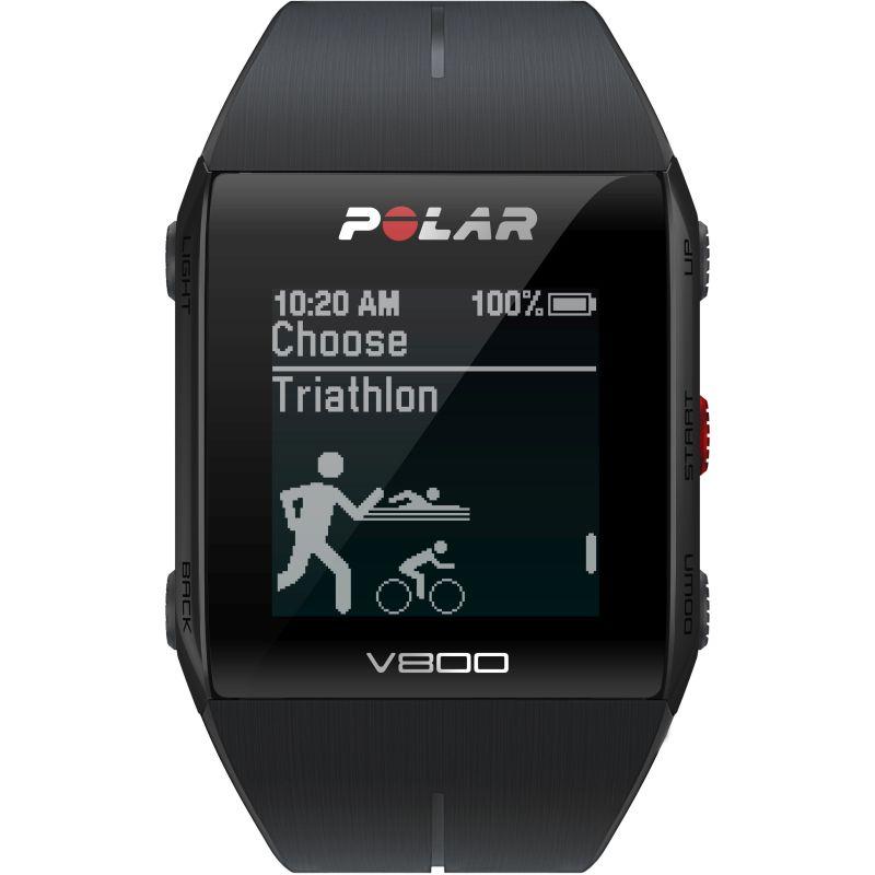 Unisex Polar V800 Bluetooth Heart Rate Monitor GPS Smart Alarm Chronograph Watch