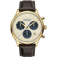 Herren Movado Heritage Series Calendoplan Chronograph Watch 3650007