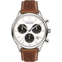 Herren Movado Heritage Series Calendoplan Chronograph Watch 3650008