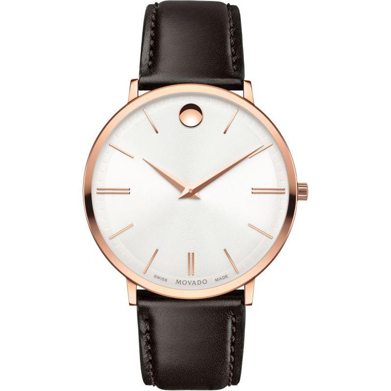 Mens Movado Ultra Slim Watch 0607089 by Watchshop