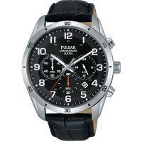 Herren Pulsar Chronograf Uhr