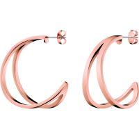 femme Calvin Klein Jewellery Outline Earrings Watch KJ6VPE100200