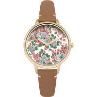 Damen Cath Kidston Sketched Rose Uhren