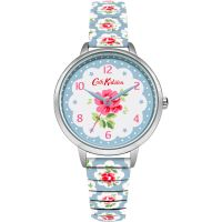 femme Cath Kidston Provence Rose Blue Expander Watch CKL030WU