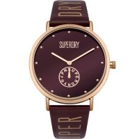 Damen Superdry Oxford Crystal Watch SYL175RRG