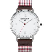 Ben Sherman London Herenhorloge Meerkleurig WB062WUR