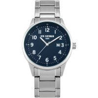 Ben Sherman London Herenhorloge Zilver WB065USM
