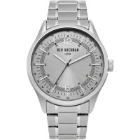 Ben Sherman London Herenhorloge Zilver WB066SM
