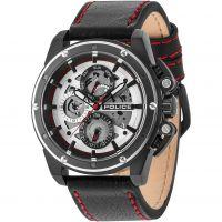 homme Police Splinter Watch 14688JSBS/04