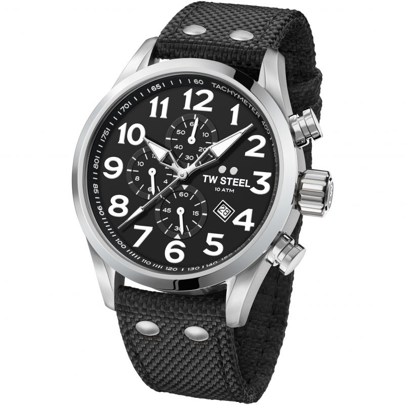 Mens TW Steel Volante Chronograph 45mm Watch