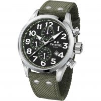 Mens TW Steel Volante Chronograph 48mm Watch