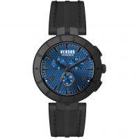 Herren Versus Versace Logo Chrono Chronograph Watch S76120017