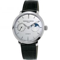 Herren Frederique Constant Slimline Moonphase Manufacture Watch FC-702S3S6