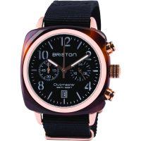 Herren Briston Clubmaster Classic Acetate Chronograph Watch 14140.PRA.T.1.NB