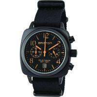 unisexe Briston Clubmaster Classic Acetate Chronograph Watch 13140.PBAM.B.4.NB