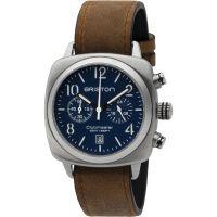 unisexe Briston Clubmaster Classic Steel Chronograph Watch 16140.S.C.15.LVBR