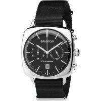 Unisex Briston Clubmaster Vintage Steel Chronograph Watch 17140.PS.V.1.NB