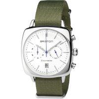 Unisex Briston Clubmaster Vintage Steel Chronograph Watch 17140.PS.V.2.NGA