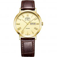 Mens Rotary Swiss Made Windsor Day-Date Watch