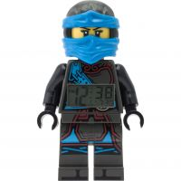 Kinder LEGO Ninjago Time Twins Nya Minifigure Alarm Clock 9009303