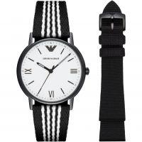 Herren Emporio Armani Fathers Tag Geschenk-Set Uhren