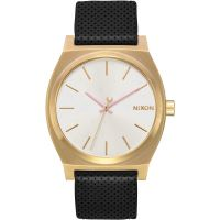 Nixon The Medium Time Teller Leather Damklocka Svart A1172-2774