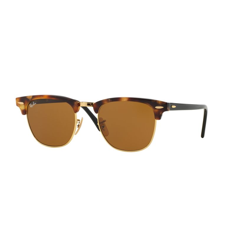 Mens Ray-Ban Clubmaster Fleck Sunglasses RB3016-1160-51